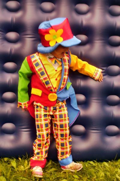 wypozyczalnia kostiumow karnawalowych dla dzieci, przebranie za klauna clowna clauna